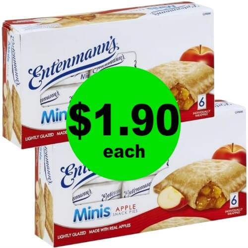 PRINT Now for $1.90 Entenmmann's Minis Cakes & Snack Pies at Publix! (Ends 3/31)
