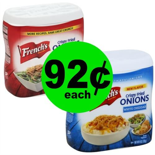 Make Your Dish Crunchy with 92¢ French's Crispy Fried Onions at Publix! (Ends 3/31)