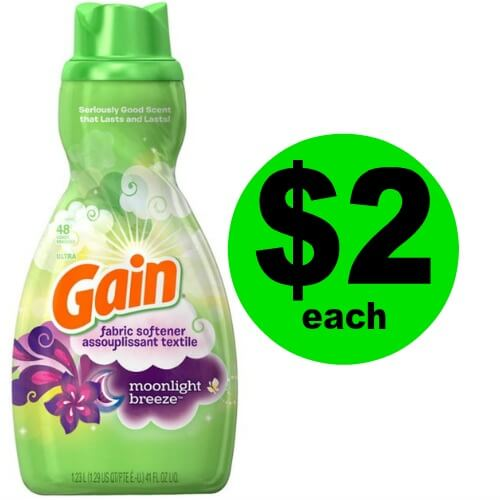 Fresh & Soft! Pick Up Great Smelling Gain Softener for $2 Each at Publix! (Ends 3/20 or 3/21)