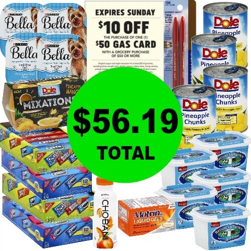 Just $56.19 for (21) Products AND a $50 Gas Card at Publix! (3/14-3/18 or 3/15-3/18)