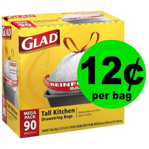Get Glad Trash Bags for ONLY 12¢ Per Bag at Publix! (Ends 4/3 or 4/4)