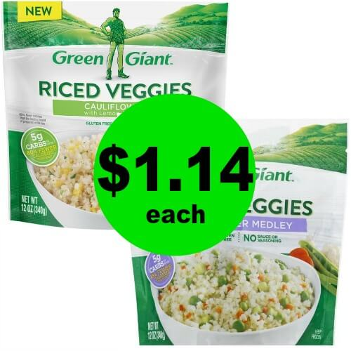 Make Space in The Freezer & Your Belly for Green Giant Riced Vegetables for $1.14 Each at Publix!