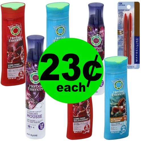 Just $1.63 for (6) Herbal Essences Hair Care & (1) Maybelline Eye Liner at Publix! (Ends 3/23)