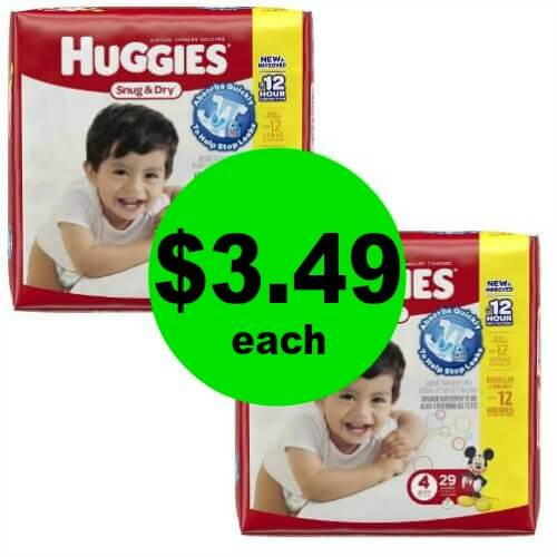 Hey Mamas! Print NOW for Huggies Snug & Dry Diapers for ONLY $3.49 Each at Publix! 3/15 – 3/21 (or 3/14 – 3/20)