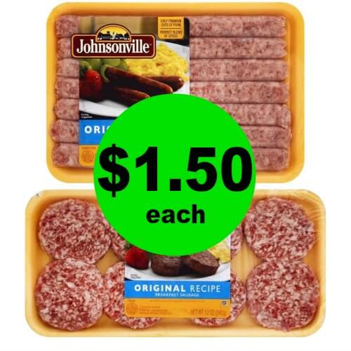 Enjoy Breakfast! Get Johnsonville Breakfast Sausage Links for $1.50 Each at Publix! (Ends 3/31)