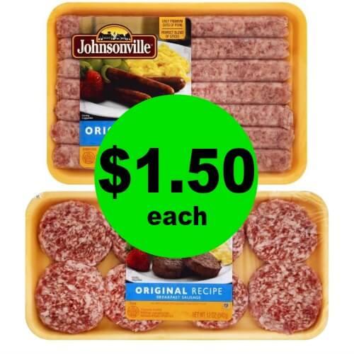 Enjoy Breakfast! Get Johnsonville Breakfast Sausage Links for $1.50 Each at Publix! (Ends 3/31)