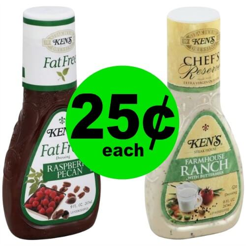 Stock Up on Ken's Dressing for 25¢ Each at Publix! (Ends 3/30)
