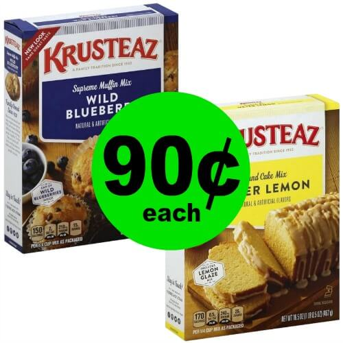 Mmm! Bring On The Muffins! Pick Up Krusteaz Muffin Mix for 90¢ Each at Publix! (Ends 3/13 or 3/14)