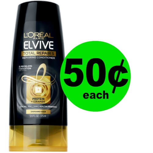 Bring Life Back to Your Hair with 50¢ L'Oreal Elvive Hair Care at Publix! (3/10-3/23)
