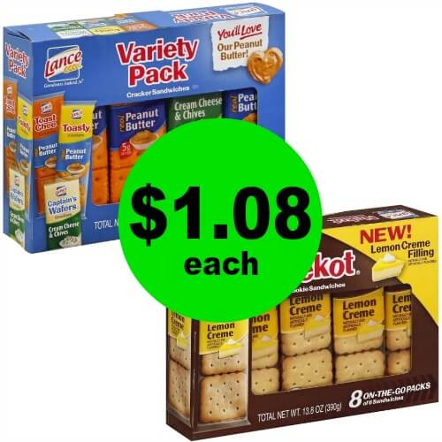 Snack On $1.08 Lance Crackers or Cookies at Publix! (Ends 3/13 or 3/14)