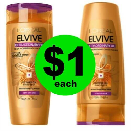 Your Hair Will Love $1 L'Oreal Elvive Hair Care at CVS! (Ends 3/10)