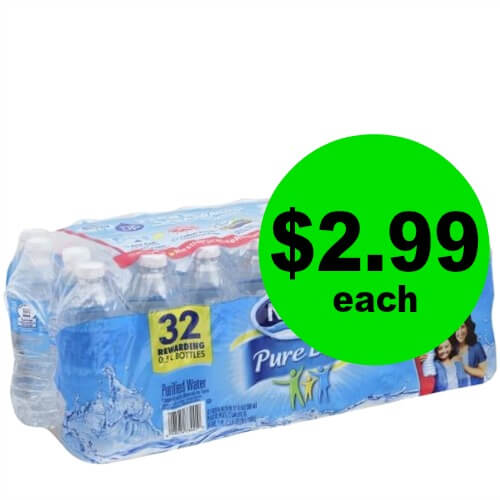 Nestle Pure Life Water 32 Pack ONLY $2.99 Each at Publix!