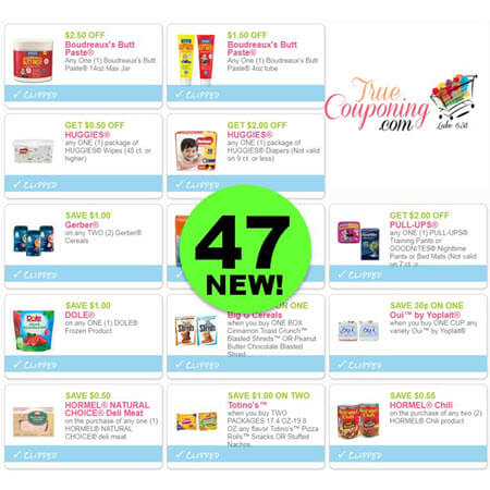 Check Out The Forty-Seven (47!) NEW Coupons That Came Out Today! Save on Hormel, Dole, Jose Ole & More!