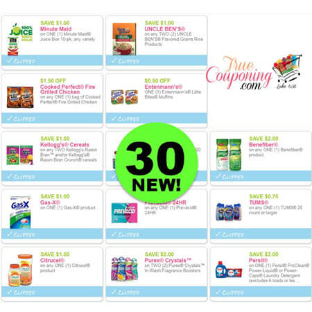 WOOHOO! There Are Thirty (30!) NEW Coupons Today! Save on Minute Maid, Purex, Persil & More!