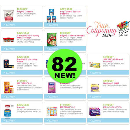 INCREDIBLE! PRINT The Eighty-Two (82!) Coupons That Came Out This Weekend!