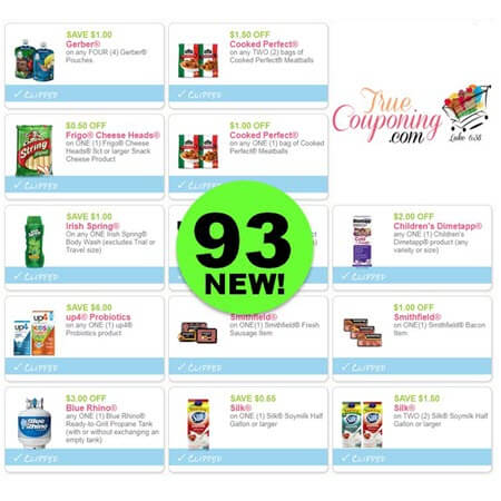 It's CRAZY! NOW There's Ninety-Three (93!) NEW Coupons Out This Week! Save on Cooked Perfect, Irish Spring, Smithfield & More!