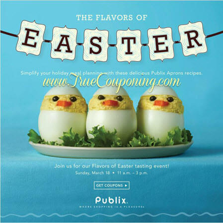 "Publix ""The Flavors of Easter"" Coupon Booklet & Printables! (Valid 3/7 or 3/8 – 4/1/18)"