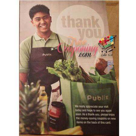 "Publix ""Thank You"" Coupon Sheet! (Valid till 4/4/18)"