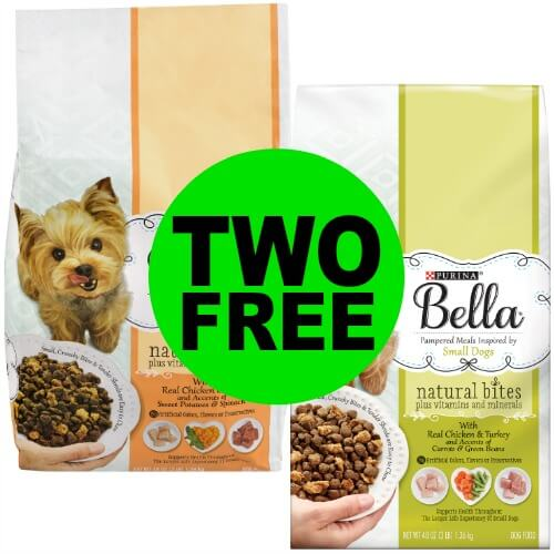 Print NOW! TWO (2!) FREE bags of Purina Bella Dog Food at Publix! 3/8 – 3/14 (or 3/7 – 3/13)