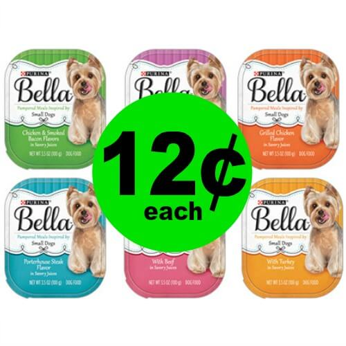 Your Fur Baby with 12¢ Purina Bella Pampered Meals at Publix! (Ends 3/29)