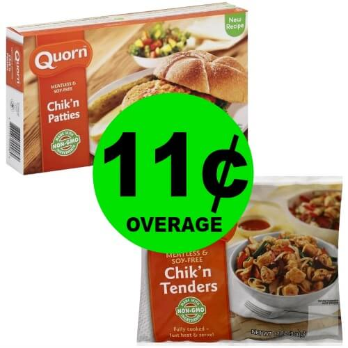 TWO (2!) FREE + 11¢ OVERAGE Quorn Meatless & Soy-Free Products at Publix! (Ends 3/9)