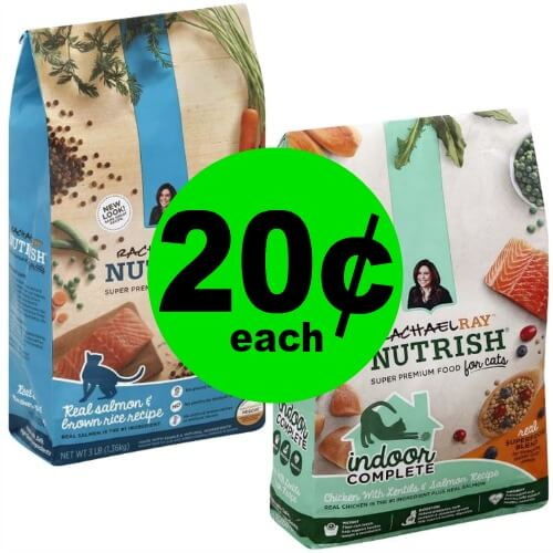Purrrfect! Rachael Ray Cat Food 3-lb Bag Only $.20 Each at Publix – Ends 4/3 or 4/4