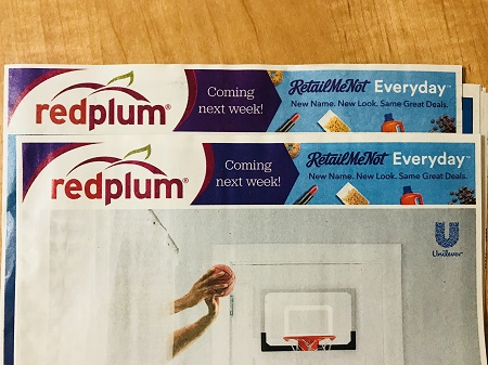 red plum coupon insert list