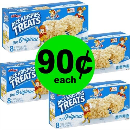 Enjoy a Treat with 90¢ Kellogg's Rice Krispies Treats at Publix! (Ends 3/13 or 3/14)