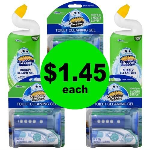 PRINT Now For $1.45 Scrubbing Bubbles Toilet Gel & Toilet Bowl Cleaner at Publix! (Ends 4/6)