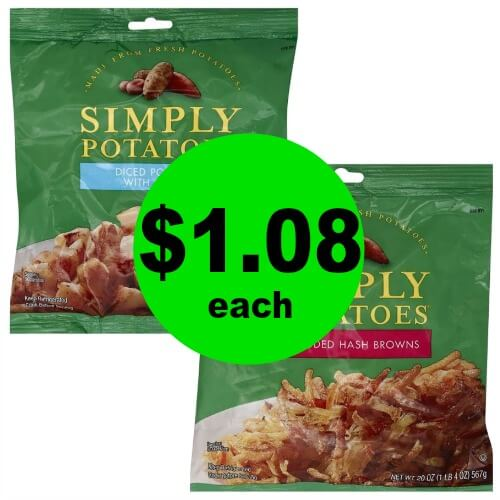 One Potato … Two Potato! Simply Potatoes $1.08 Each (After Rebate) at Publix! (Ends 3/20 or 3/21)