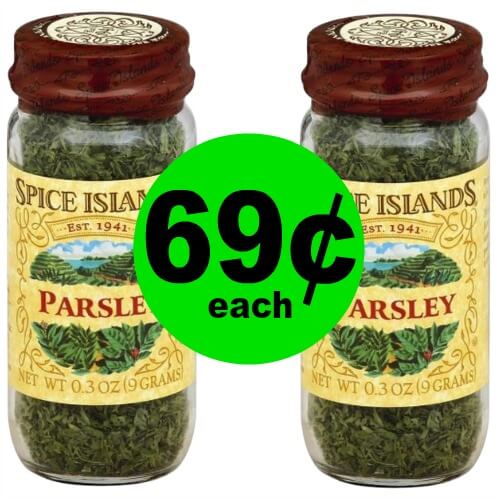 Spice Up The Cabinets! Spice Islands Spices As Low As 69¢ Each at Publix! (3/18 – 4/1)