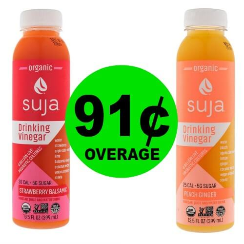 Two 2 Free 91 Overage On Suja Juice At Publix Ends 320 Or 321