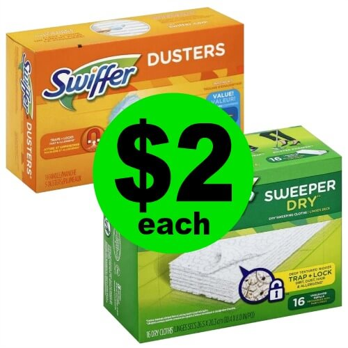 Start Spring Cleaning with Swiffer Refills JUST $2 Each at Publix! (3/4 – 3/6 or 3/7)
