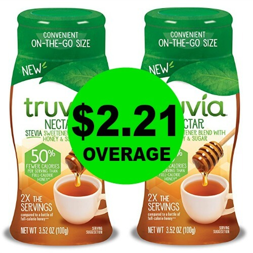 Print NOW for TWO (2!) FREE + $2.21 OVERAGE on Truvia Sweetener at Publix! 3/22 – 3/31 (or 3/21 – 3/31)