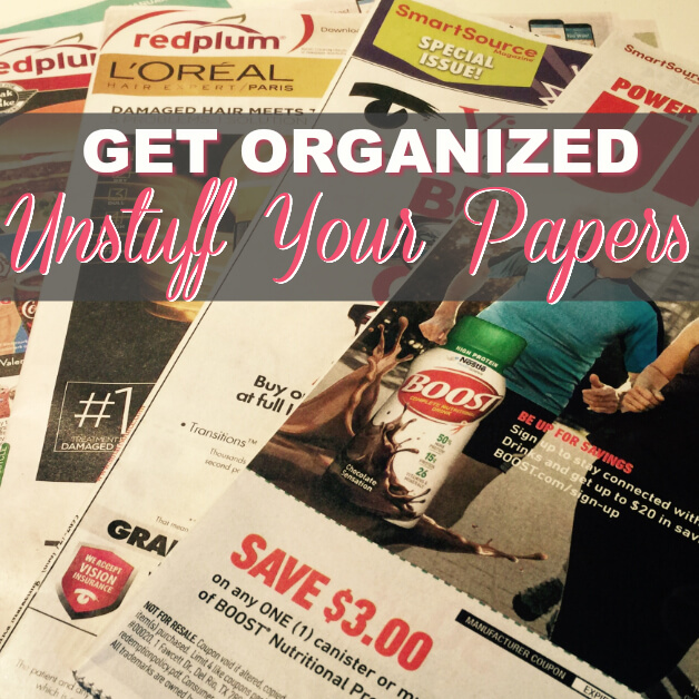How To Organize Your Coupon Box {Video}