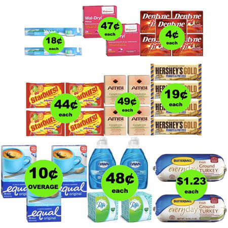 Don't Miss the THREE (3!) FREEbies & Eleven (11!) Deals Just 69¢ Each or Less at Walgreens! (Ends 3/24)