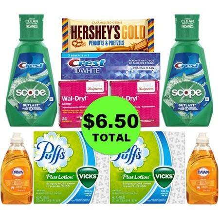 Don't Miss The $22.61 Worth of Oral Care, Candy, Allergy & Houshold Goods You Can Get This Week at Walgreens for Only $6.50! (3/18 – 3/24)