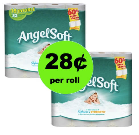 Pick Up Angel Soft Bath Tissue Only 28¢ per Roll at Winn Dixie! (Ends 3/20)