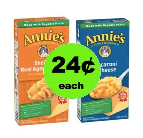 Kids Will Cheer for Annie's Mac & Cheese As Low As 24¢ Each at Target! (Ends 3/24)