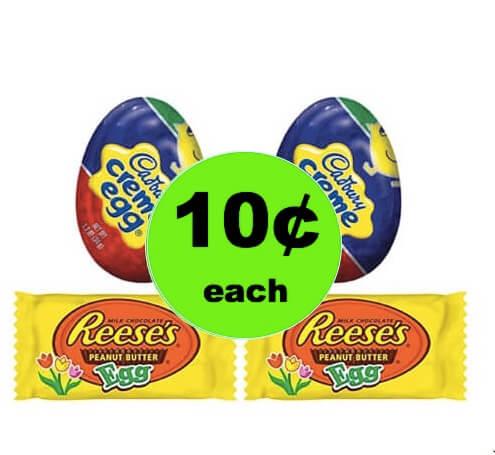 CHEAP EASTER CHOCOLATE! Snag 10¢ Cadbury or Reese's Eggs at Winn Dixie! (3/28-4/1)