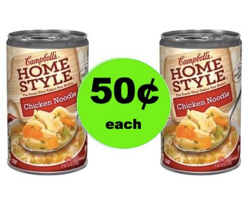 Make Dinner Easy with Campbell's Homestyle Soup Only 50¢ at Winn Dixie! (Ends 3/6)