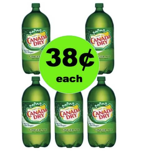 STOCK UP on 38¢ Canada Dry Ginger Ale at Winn Dixie! (Ends 4/3)