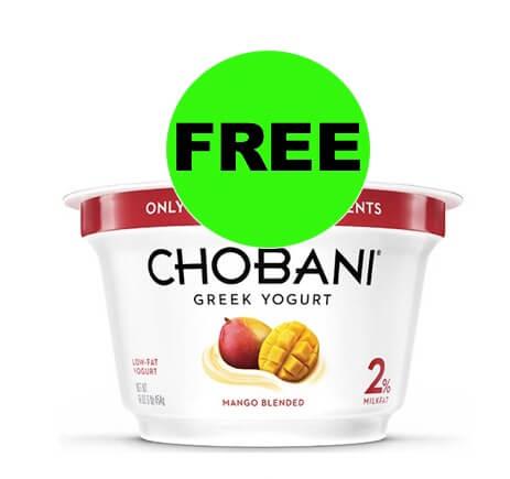 MORE FREE Chobani Yogurt at Winn Dixie! (Ends 3/25)