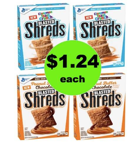 Have a Healthy Breakfast with $1.24 General Mills Shreds Cereal at Target! (Ends 3/11)