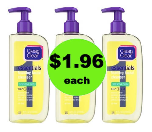 Your Face Will Love You! Get $1.96 Clean & Clear Facial Cleanser at Target! (Ends 3/17)