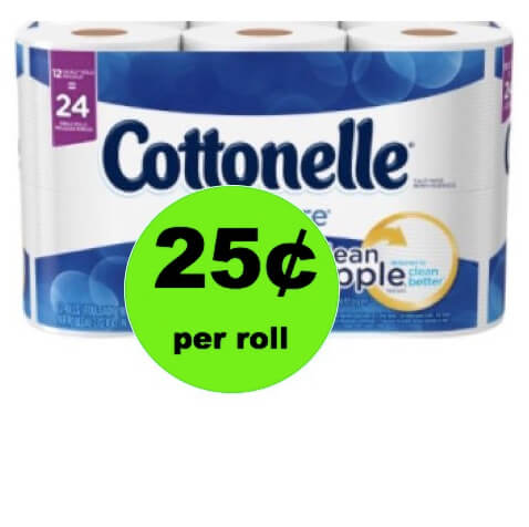 CHEAP TP! Pick Up Cottonelle Bath Tissue Only 25¢ per Roll at Winn Dixie! (Ends 3/11)