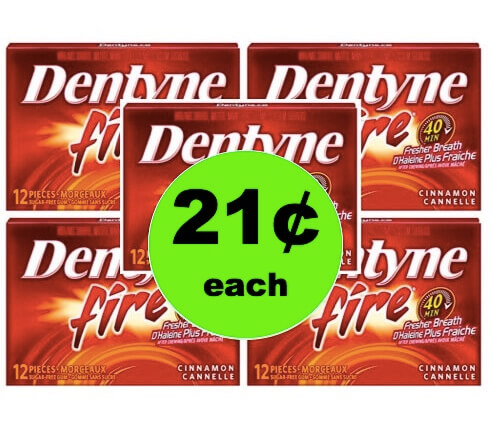 Even Cheaper! Get 21¢ Dentyne Gum Singles at Walmart! (Ends 3/21)