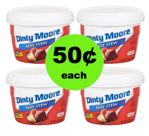 Pick Up 50¢ Dinty Moore Beef Stew Microwaveable Cups at Winn Dixie! (Ends 3/27)