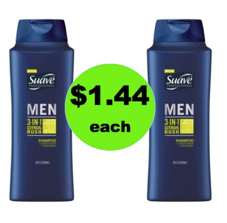 Keep Your Guys Clean with $1.44 Suave Men's Body Wash BIG Bottles at Target! (Ends 3/17)