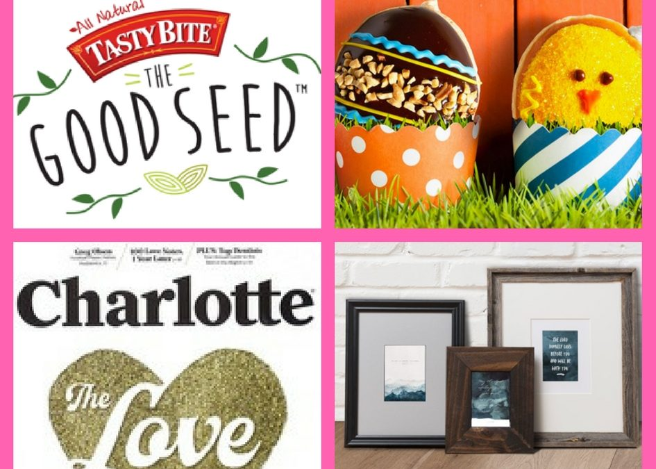Don't Miss These FOUR (4!) FREEbies: Spinach Seeds, Krispy Kreme Spring Donut, Annual Subscription to Charlotte Magazine and Christian Art Prints!